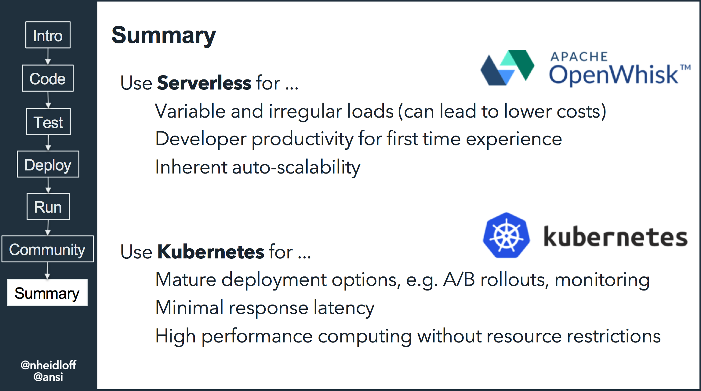 When to Use Serverless, and When to Use Kubernetes - DZone Cloud