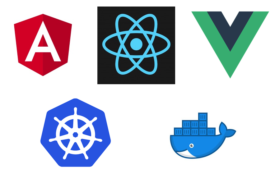 Deploying Angular, React and Vue Apps on Kubernetes